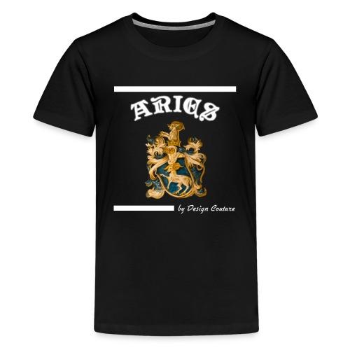 ARIES WHITE - Kids' Premium T-Shirt