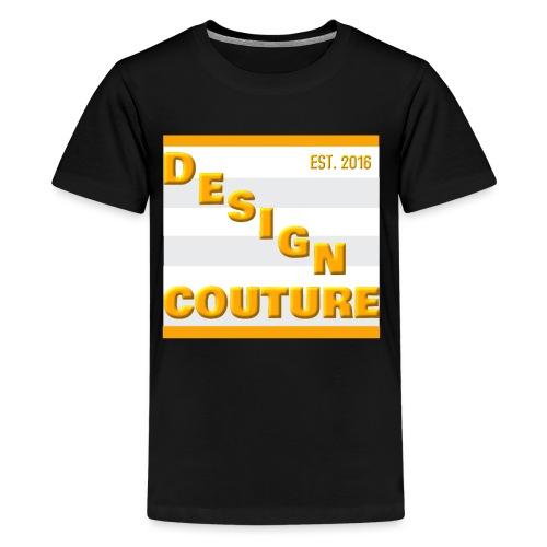 DESIGN COUTURE EST 2016 ORANGE - Kids' Premium T-Shirt
