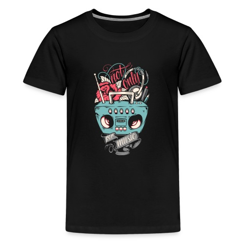 Not only for music - Kids' Premium T-Shirt
