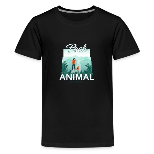 Life Is Really Good Pack Animal - Kids' Premium T-Shirt