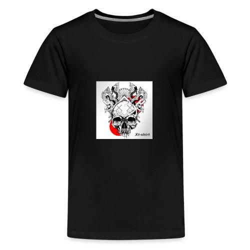 zt flameskull 01 - Kids' Premium T-Shirt