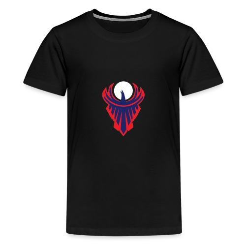 the moon bird - Kids' Premium T-Shirt
