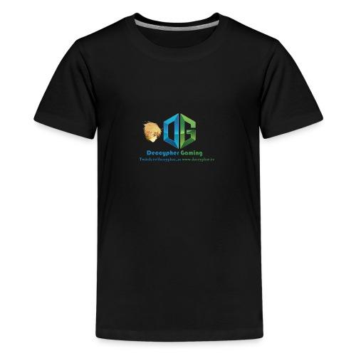 Deccypher Gaming - Kids' Premium T-Shirt