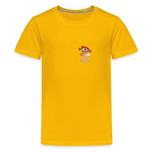 Pizza Lover pocket - Kids' Premium T-Shirt
