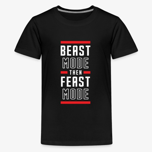 B Mode Then Feast Mode - Kids' Premium T-Shirt