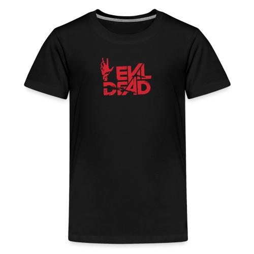 Evil Of Dead Logo Funny - Kids' Premium T-Shirt