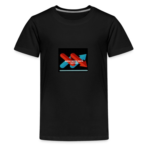 North Meets South Logo - Kids' Premium T-Shirt