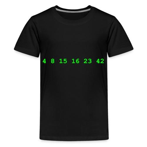 4 8 15 16 23 42 Lost - Kids' Premium T-Shirt