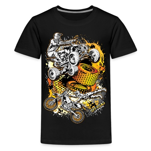 FMX Freestyle Abstract - Kids' Premium T-Shirt