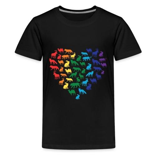 Animal Love - Kids' Premium T-Shirt
