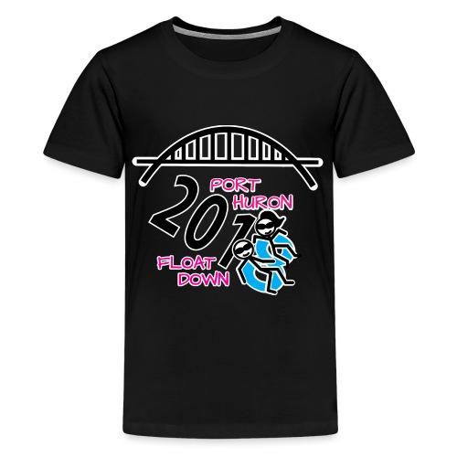 Port Huron Float Down 2018 Shirt - Color - Kids' Premium T-Shirt