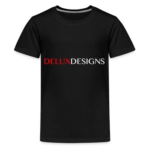 Delux Designs (white) - Kids' Premium T-Shirt