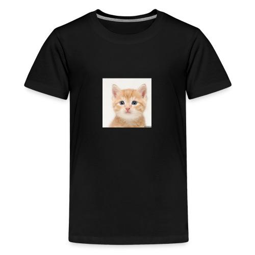 the great cute cat shirt - Kids' Premium T-Shirt