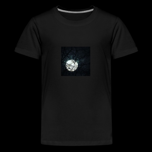 trees covering the Moon - Kids' Premium T-Shirt