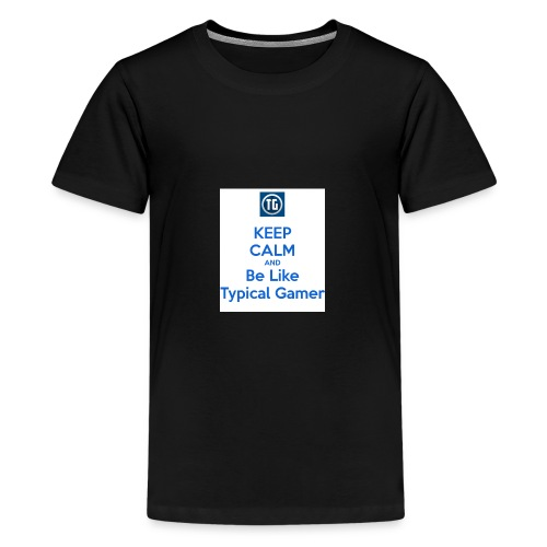 keep calm and be like typical gamer - Kids' Premium T-Shirt