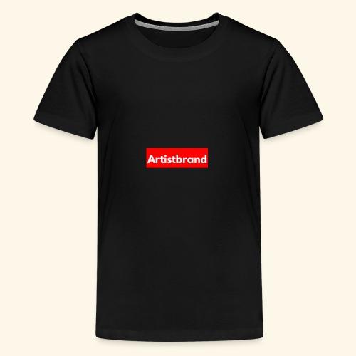 Artist Brand box logo - Kids' Premium T-Shirt