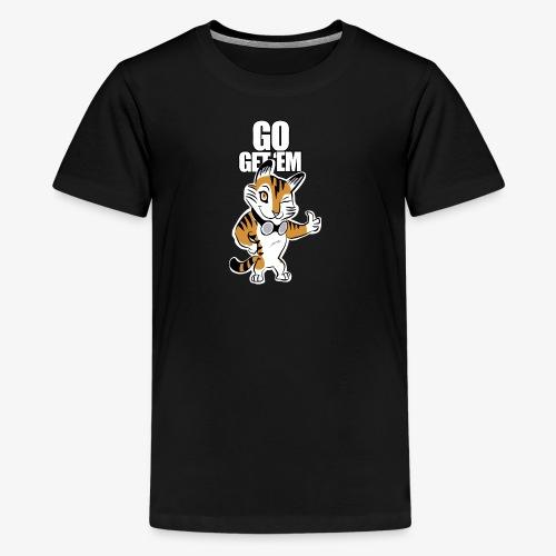 Go get 'em - Kids' Premium T-Shirt