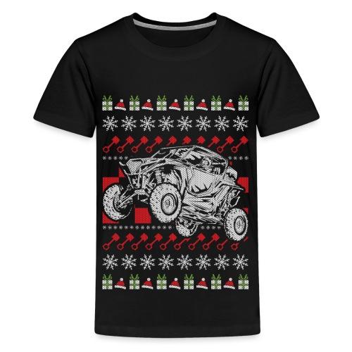 UTV Racing Christmas - Kids' Premium T-Shirt