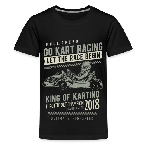 Go Kart Racer 2018 - Kids' Premium T-Shirt