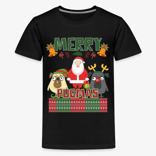 PUG UGLY XMAS - Kids' Premium T-Shirt