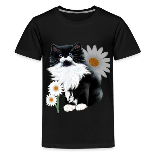 Little Tux Kitten-Daisy - Kids' Premium T-Shirt