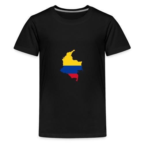 colombia mapa - Kids' Premium T-Shirt
