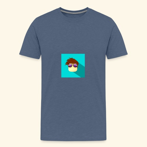 NixVidz Youtube logo - Kids' Premium T-Shirt