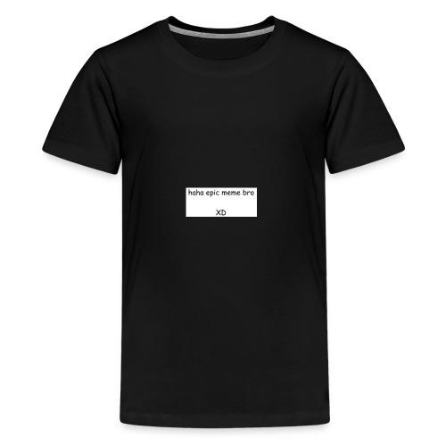 epic meme bro - Kids' Premium T-Shirt