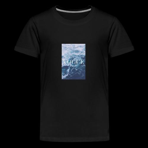 3707e04577f8e34009879a19c5b95cb1 laptop backgroun - Kids' Premium T-Shirt