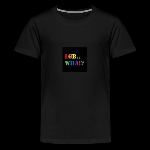 Subhan Squad LGB.. WHA!? logo t-shirt - Kids' Premium T-Shirt