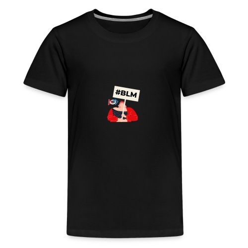 #BLM FIRST Girl Petitioner - Kids' Premium T-Shirt