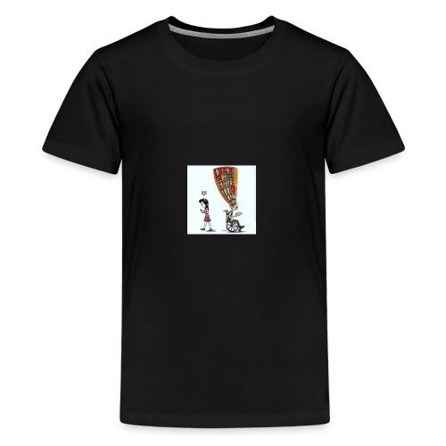 Less mobile more books - Kids' Premium T-Shirt