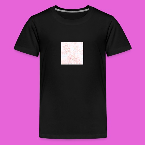 cute flower design - Kids' Premium T-Shirt