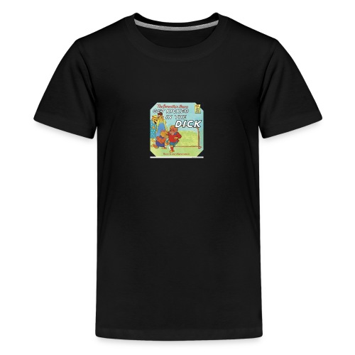 kicked in the dick - Kids' Premium T-Shirt