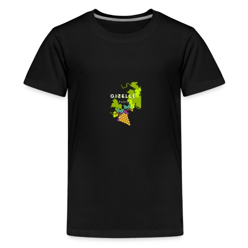 Gizelle Paris Snow Grapes Trans - Kids' Premium T-Shirt