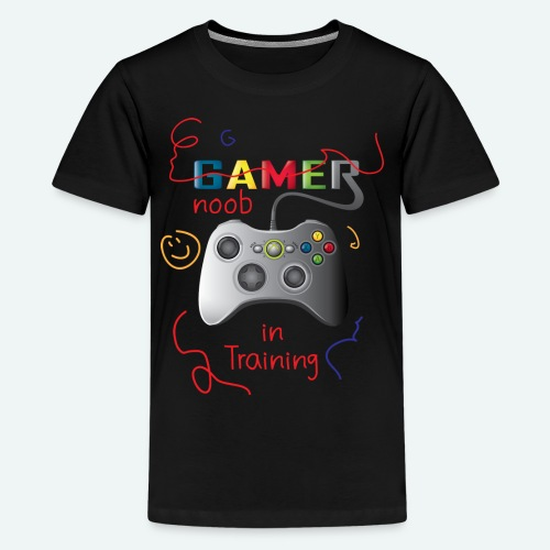 Noob in training - Kids' Premium T-Shirt
