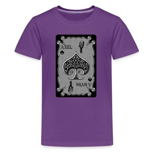 Axelofabyss Spade Card - Kids' Premium T-Shirt