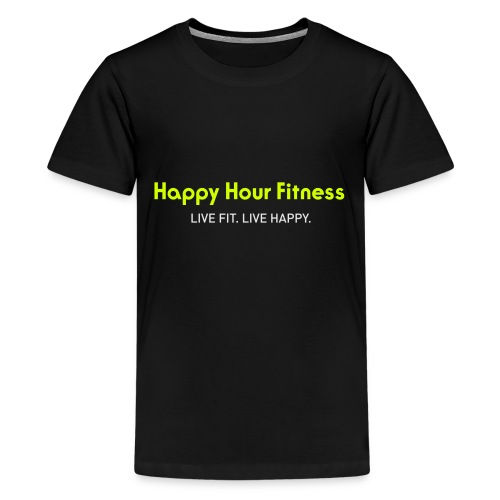 HHF_logotypeandtag - Kids' Premium T-Shirt