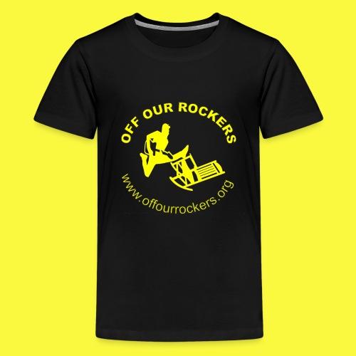2Yellow Logo png - Kids' Premium T-Shirt