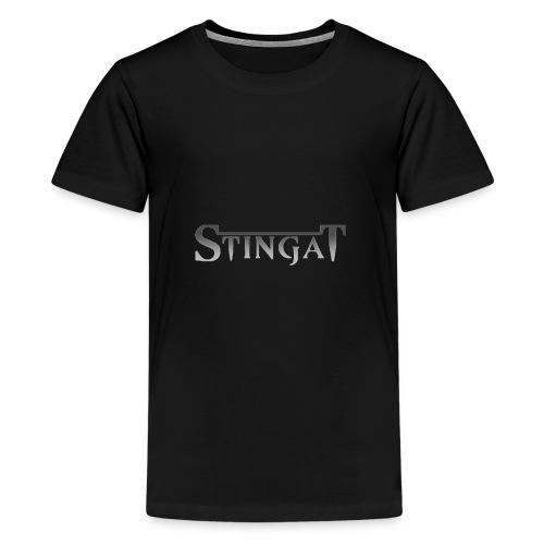 Stinga T LOGO - Kids' Premium T-Shirt