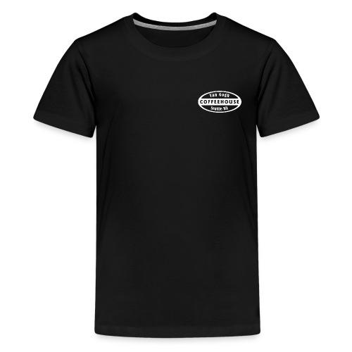 whitebig pixel - Kids' Premium T-Shirt