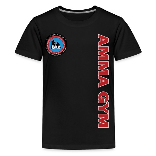 amma gym 10 png - Kids' Premium T-Shirt