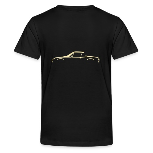 Sportscar Profile for dark colored shirts - Kids' Premium T-Shirt