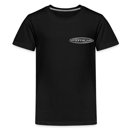 v8 supercars logo silver png - Kids' Premium T-Shirt