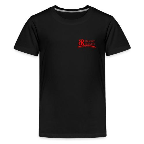 BRLogoTextRed - Kids' Premium T-Shirt