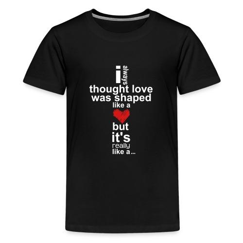 Cross Love - Kids' Premium T-Shirt
