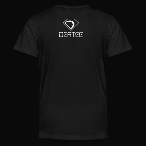 DerTee Threadz Logo White - Kids' Premium T-Shirt