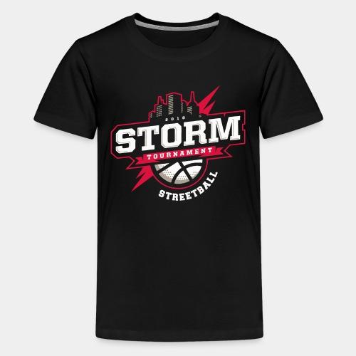 streetball basketball player - Kids' Premium T-Shirt