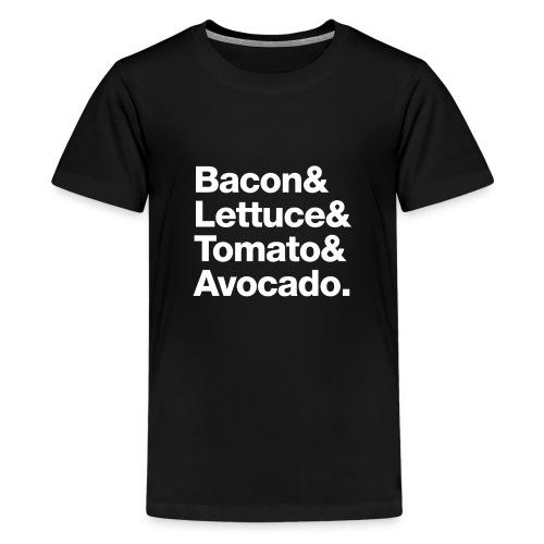 BLTA (white text) - Kids' Premium T-Shirt