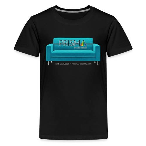 Teal Couch - Kids' Premium T-Shirt
